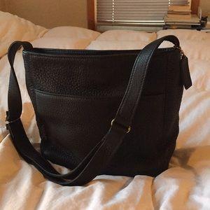 Vintage Coach Black Messenger Shoulder Bag. New.